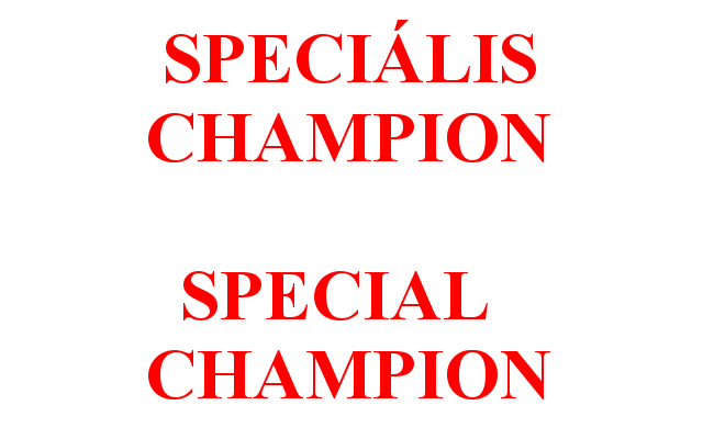 Speciális champion